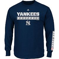 Men's Majestic New York Yankees Proven Pasttime Long-Sleeve Tee