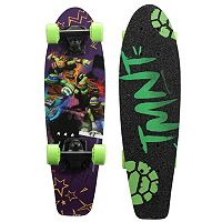 Teenage Mutant Ninja Turtles Turtle Life Graphic 21-Inch Cruiser Skateboard by PlayWheels