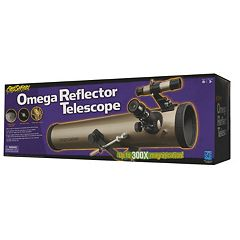 Educational Insights Geosafari 300x Omega Reflector Telescope by