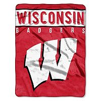 Wisconsin Badgers Basic Throw by Northwest