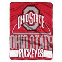 Ohio State Buckeyes Keepsake Silk-Touch Throw by Northwest