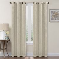 Regent Court 2-pack Chevron Blackout Curtain