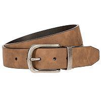 Men's Bill Adler Reversible Flat-Strap Belt