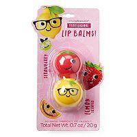 Simple Pleasures 2-pk. Fruitilicious Strawberry & Lemon Lip Balm Pods