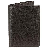 Men's Bill Adler RFID-Blocking Leather Trifold Wallet