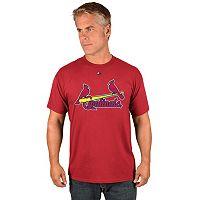 Men's Majestic St. Louis Cardinals Wordmark Tee