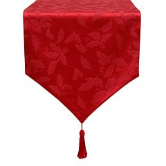 Lenox Holly Leaf Damask Table Runner 70\ by
