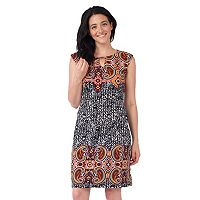 Women's ILE New York Paisley Sheath Dress