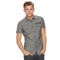 Men's Rock & Republic Chambray Stretch Button-Down Shirt