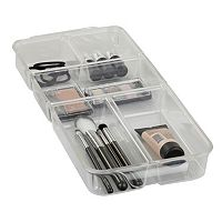 Home Basics 5 Compartment Cosmetic Organizer