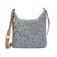 SONOMA Goods for Life™ Straw Basketweave Crossbody Bag