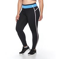 Plus Size FILA SPORT® Tracker Colorblock Workout Leggings