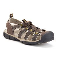 Croft & Barrow® Men's Bungee Fisherman Sandals
