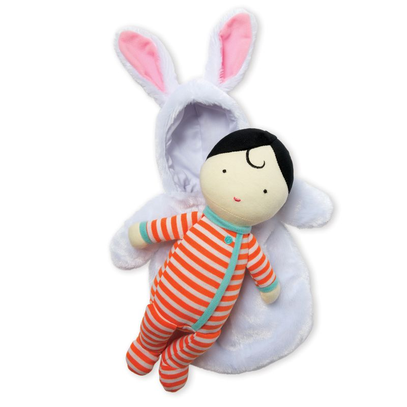 Snuggle Baby Bunny by Manhattan Toys, Multicolor thumbnail