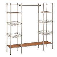 Honey-Can-Do Standing Steel Closet