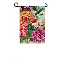 Evergreen Enterprises Floral Indoor / Outdoor Garden Flag