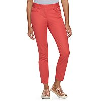 Juniors' Candie's® Audrey Solid Ankle Pants