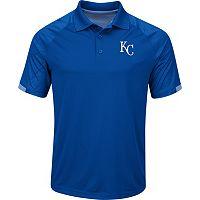 Men's Majestic Kansas City Royals Outburst Polo