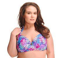 Plus Size Paramour Underwire Halter Bikini Top