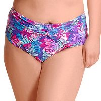Plus Size Paramour Twisted High-Waisted Bikini Bottoms