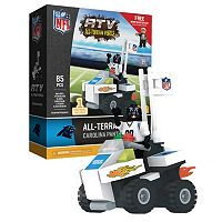 OYO Sports Carolina Panthers Buildable ATV 4-Wheeler with Mascot