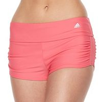 Women's adidas Shirred Swim Shorts