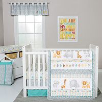 Trend Lab Lullaby Jungle 6-pc. Crib Bedding Set
