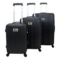 Chariot Travelware Monet Burgundy 3-Piece Hardside Spinner Luggage Set