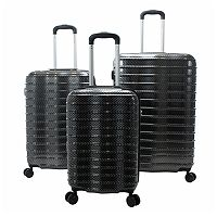 Chariot Travelware Wave 3-Piece Hardside Spinner Luggage Set
