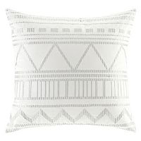 INK+IVY Ava Embroidered Throw Pillow