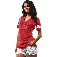 Women's Majestic Cincinnati Reds Spirit Awareness Tee