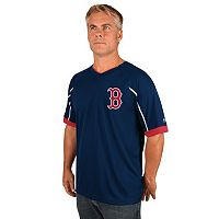 Men's Majestic Boston Red Sox Emergance V-Neck Tee