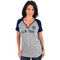 Women's Majestic New York Yankees From the Stretch Tee