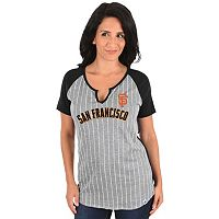 Women's Majestic San Francisco Giants From the Stretch Tee