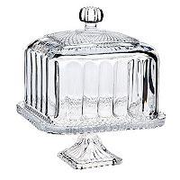 Godinger Belmont Crystal Footed Dessert Dome