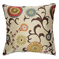 Spencer Home Decor Renata Floral Throw Pillow