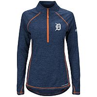 Women's Majestic Detroit Tigers Don't Stop Trying Pullover