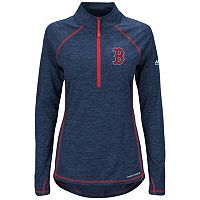 Women's Majestic Boston Red Sox Don't Stop Trying Pullover