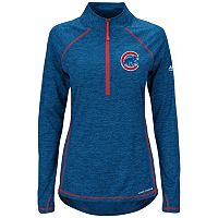 Women's Majestic Chicago Cubs Don't Stop Trying Pullover