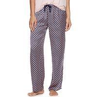 Women's Apt. 9® Pajamas: Night Skies Satin Pajama Pants
