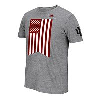 Men's adidas Indiana Hoosiers Veteran's Day Flag Tee