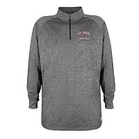 Men's Stitches St. Louis Cardinals Charcoal Fleece Pullover