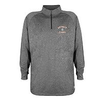 Men's Stitches Detroit Tigers Charcoal Fleece Pullover