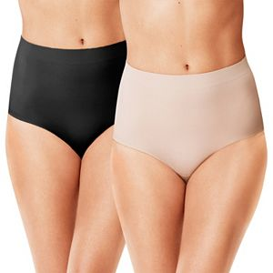 Warner's 2-Pack Shaping Briefs WA1173