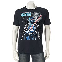 Men's Star Wars Darth Vader Pixels Tee