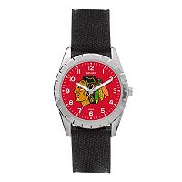 Kids' Sparo Chicago Blackhawks Nickel Watch