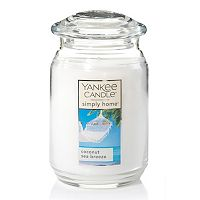 Yankee Candle simply home Coconut Sea Breeze Large Candle Jar