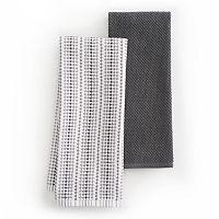 Food Network™ Awning Stripe Kitchen Towel 2-pk.