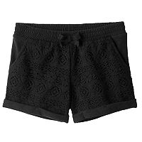 Girls 4-10 Jumping Beans® Lace Front Shorts