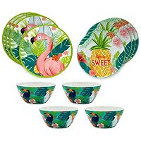 Celebrate Summer Together 12-pc. Melamine Dinnerware Set
